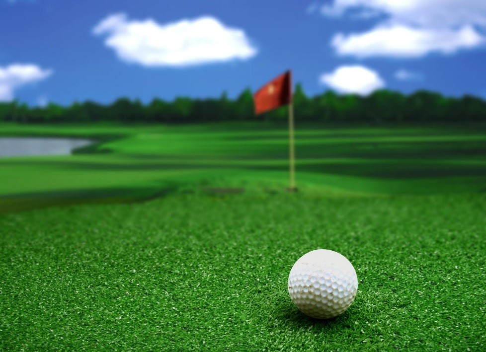 Want a golf course without difficult maintenance use